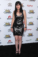 LOS ANGELES, CA, USA - APRIL 23: Pauley Perrette at the 2014 Revolver Golden Gods Award Show held at Club Nokia on April 23, 2014 in Los Angeles, California, United States. (Photo by Xavier Collin/Celebrity Monitor)