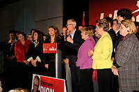 Laval (QC)CANADA - October 9, 2008 -<br /> Stephane Dion, Leader, Liberal Party of Canada campaign in Laval , North of Montreal on the last sprint before the (Canadian) Federal Elections which will be held October 14, 2008.
