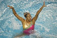 23 February 2008: Gayle Lee during Stanford's 101-62.5 victory over Arizona at the Avery Aquatic Center in Stanford, CA.