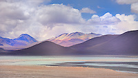 BOLIVIA - ALTIPLANO<br /> Coloured mountains and volcanoes in dizzy heights along the jeep track to Uyuni<br /> <br /> Full size: 58,7 MB