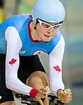 Michael Sametz, Rio 2016 - Para Cycling // Paracyclisme.<br /> Michael Sametz competes in the men's C1-2-3 100m time trial // Michael Sametz participe au contre-la-montre masculin C1-2-3 100 m. 10/09/2016.