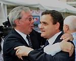 VINCENZO MARIA VITA E FRANCO SIDDI<br /> MANIFESTAZIONE PER LA LIBERTA' DI STAMPA PROMOSSA DAL FNSI<br /> PIAZZA DEL POPOLO ROMA 2009