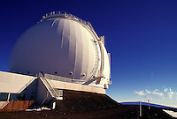 The technology of the keck telescope on Mauna Kea
