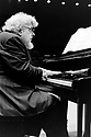 John Ogdon, English Pianist and composer in London. CREDIT Geraint Lewis