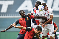 Simy-Cristian Zapata <br /> Serie A football match between Genoa CFC and FC Crotone at Marassi Stadium in Genova (Italy), September 20th, 2020. Photo Image Sport / Insidefoto