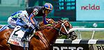 June 5, 2021: Drain the Clock, #2, ridden by jockey Jose Ortiz, wins the Woody Stephens Stakes on Belmont Stakes Day at the Belmont Stakes Festival at Belmont Park in Elmont, New York. Sue Kawczynski/Eclipse Sportswire/CSM
