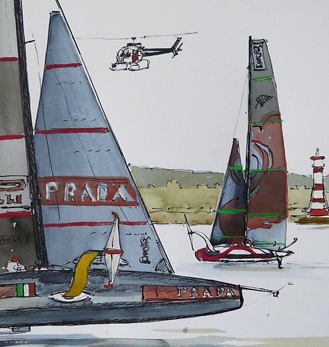 'Foils' - Are these boats really sailing boats? The Americas Cup gives them legitimacy and I am sure a foiling class bigger than the Moths must be in the works. The foilers are not going to go away.
