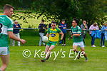 Padraig Doyle Gneeveguilla takes on Caolan Ryan Listry during their League game in Listry on Sunday