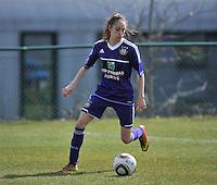 RSC Anderlecht Dames - ADO Den Haag : Tessa Wullaert.foto DAVID CATRY / Nikonpro.be