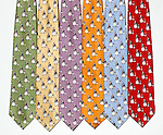Guy Buffet 100% Silk Ties