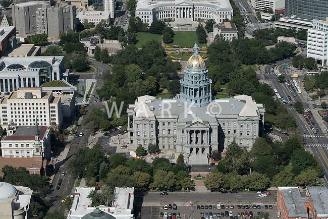 Colorado State Capitol Building; Denver.  Aug 20, 2014. 812868