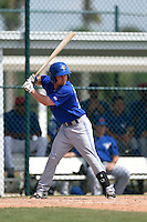 Toronto Blue Jays Aaron Attaway (59) during a minor league spring training game against the Pittsburgh Pirates on March 21, 2015 at Pirate City in Bradenton, Florida.  (Mike Janes/Four Seam Images)