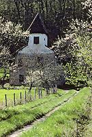 Europe/France/Midi-Pyrénées/46/Lot/Autoire: maison et pigeonnier