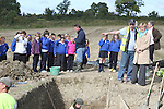 Mairead McGuinness, MEP at Site of Annagassan Viking Finds, Co.Louth