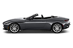 Car Driver side profile view of a 2018 Aston Martin DB11-Volante - 2 Door Convertible Side View