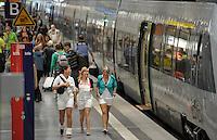 City Tunnel sorgt dafür, das die Leipziger Taxifahrer Umsatzeinbußen hinnehmen müssen. Blick in den Citytunnel (Haltestelle Hauptbahnhof) 28.06.2014 in Leipzig (Sachsen). <br /> Foto: Christian Nitsche