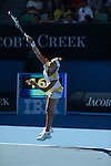 Kirsten Flipkens (BEL) loses at Australian Open in Melbourne on January 20, 2013