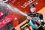 Peter Sagan (SVK) Bora-Hansgrohe wins Stage 10 of the 103rd edition of the Giro d'Italia 2020, running 177km from Lanciano to Tortoreto, Italy. 13th October 2020.  <br /> Picture: LaPresse/Gian Mattia D'Alberto | Cyclefile<br /> <br /> All photos usage must carry mandatory copyright credit (© Cyclefile | LaPresse/Gian Mattia D'Alberto)