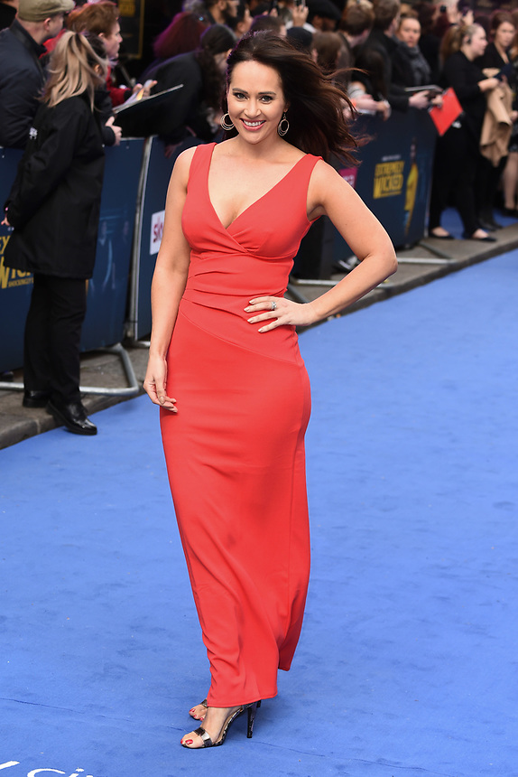 """Hayley Sparkes<br /> arriving for the """"Extremely Wicked, Shockingly Evil And Vile"""" premiere at the Curzon Mayfair, London<br /> <br /> ©Ash Knotek  D3495  23/04/2019"""