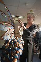 Europe/France/Provence-Alpes-Côte d'Azur/06/Alpes-Maritimes/Nice:  Atelier des costumes du Carnaval- Fabienne d'Alexandry styliste