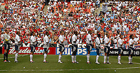 USA Men's team, Uruguay vs USA, 2002.