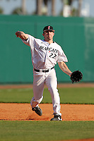 Infielder Matt Williams #22 of the Cincinnati Bearcats during the Big East-Big Ten Challenge vs. the Ohio State Buckeyes at Al Lang Field in St. Petersburg, Florida;  February 18, 2011.  Cincinnati defeated Ohio State 11-5.  Photo By Mike Janes/Four Seam Images