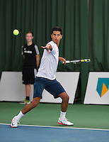 18-01-14,Netherlands, Rotterdam,  TC Victoria, Wildcard Tournament,   Fabian van der Lans (NED)   <br /> Photo: Henk Koster