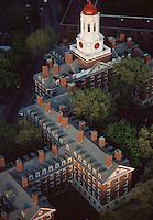 Dunster House aerial view, Harvard University, Cambridge, MA