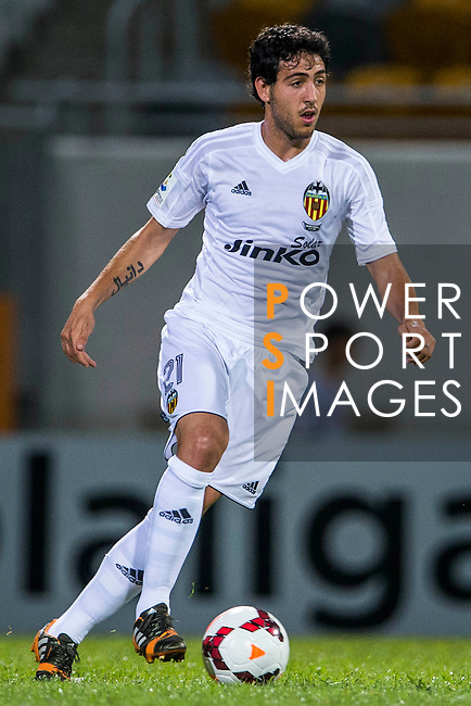 Daniel Parejo of Valencia CF in action during LFP World Challenge 2014 between Valencia CF vs BC Rangers FC on May 28, 2014 at the Mongkok Stadium in Hong Kong, China. Photo by Victor Fraile / Power Sport Images