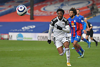 Josh Maja of Fulham in action during the Premier League behind closed doors match between Crystal Palace and Fulham at Selhurst Park, London, England on 28 February 2021. Photo by Vince Mignott / PRiME Media Images.