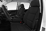 Front seat view of 2017 Chevrolet Silverado-3500HD LT-Crew-DRW 4 Door Pick-up Front Seat  car photos