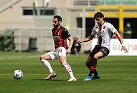 Milano  18-04-2021<br /> Stadio Giuseppe Meazza<br /> Serie A  Tim 2020/21<br /> Milan Genoa<br /> Nella foto: Hakan Calhanoglu                                     <br /> Antonio Saia Kines Milano