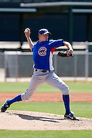 Toby Matchulat - Chicago Cubs - 2009 extended spring training.Photo by:  Bill Mitchell/Four Seam Images