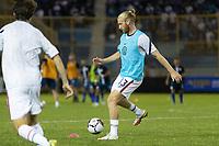 SAN SALVADOR, EL SALVADOR - SEPTEMBER 2: Tim Ream #13 of the United States during a game between El Salvador and USMNT at Estadio Cuscatlán on September 2, 2021 in San Salvador, El Salvador.