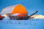Orange Barn, Saint Aqapit, Chaudiere-Appalaches, Quebec