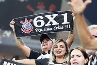 SÃO PAULO, SP, 17.02.2019 – CORINTHIANS-SAO PAULO– Torcida do Corinthians durante partida contra o São Paulo, valido pela setima rodada do Campeonato Paulista 2019, disputada na Arena Corinthians em São Paulo, na tarde deste domingo, 17. (Foto: Danilo Fernandes/Brazil Photo Press)