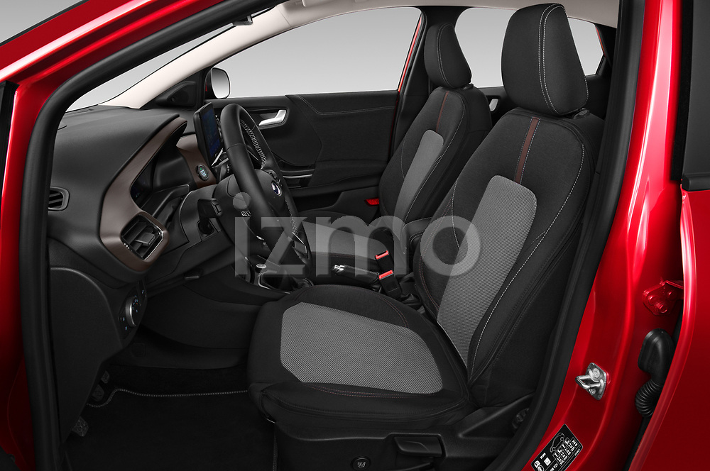 Front seat view of 2020 Ford Puma Titanium-X 5 Door SUV Front Seat  car photos