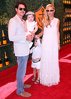 PACIFIC PALISADES, CA, USA - OCTOBER 11: Rodger Berman, Kaius Jagger Berman, Skyler Morrison Berman, Rachel Zoe arrive at the 5th Annual Veuve Clicquot Polo Classic held at Will Rogers State Historic Park on October 11, 2014 in Pacific Palisades, California, United States. (Photo by Xavier Collin/Celebrity Monitor)