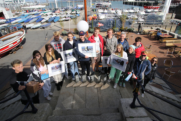 Waszp 2021 National Championship Prizewinners at the Royal St. George Yacht Club