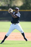 March 17th 2008:  Prylis Cuello of the New York Yankees minor league system during Spring Training at Legends Field Complex in Tampa, FL.  Photo by:  Mike Janes/Four Seam Images
