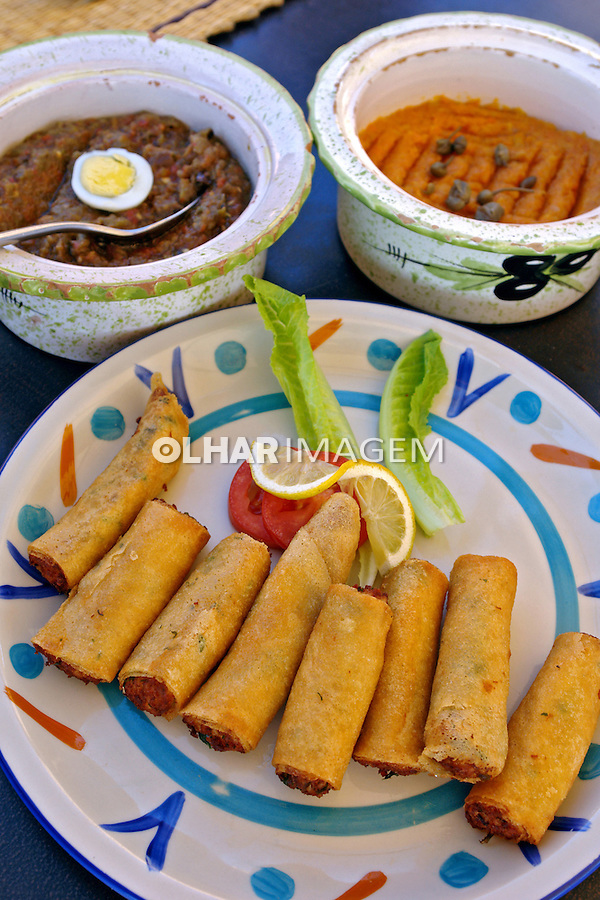Alimentos. Culinaria Tunisia. Foto de Caio Vilela.