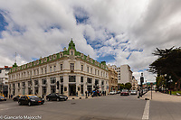 south america,Chile, Punta Arenas, old building