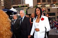 L'ouverture du Festival des Films du Monde, le 24 aout 2001<br /> <br /> PHOTO : <br />  - Agence Quebec Presse<br /> <br /> NOTE : Les ajustements finaux, recadrage et retouche des poussieres seont effectuées sur les images commandées.