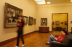 Courtauld art gallery Somerset House London 1990s UK