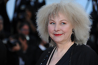 Yolande Moreau .Cannes 23/5/2013 .66mo Festival del Cinema di Cannes 2013 .Foto Panoramic / Insidefoto .ITALY ONLY