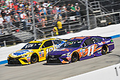 Monster Energy NASCAR Cup Series<br /> AAA 400 Drive for Autism<br /> Dover International Speedway, Dover, DE USA<br /> Sunday 4 June 2017<br /> Kyle Busch, Joe Gibbs Racing, Pedigree Petcare Toyota Camry, Denny Hamlin, Joe Gibbs Racing, FedEx Express Toyota Camry<br /> World Copyright: Logan Whitton<br /> LAT Images<br /> ref: Digital Image 17DOV1LW3998