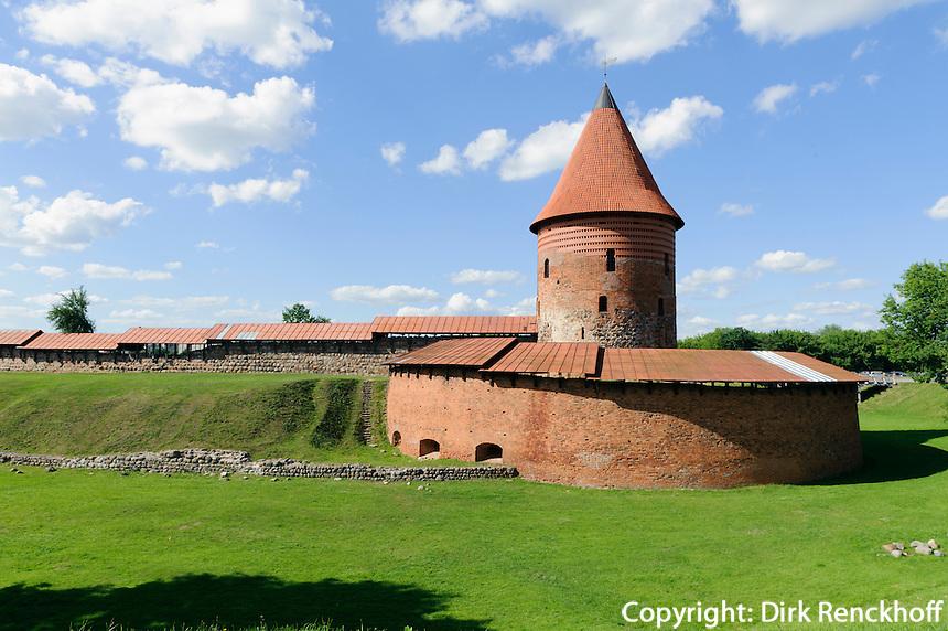 Burg in Kaunas, Litauen, Europa