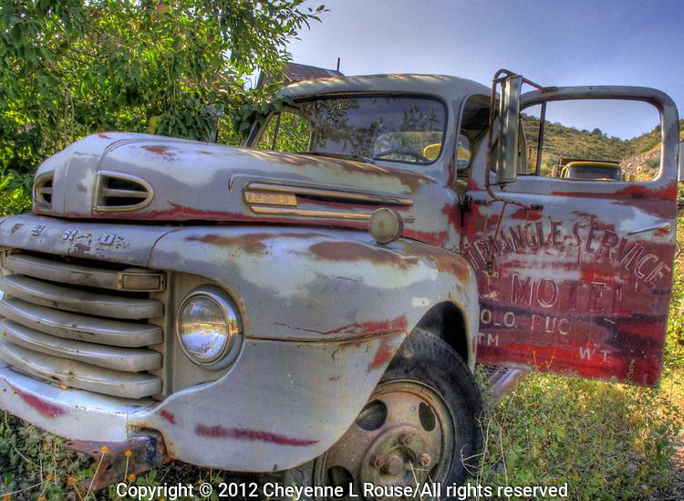 Old Ford Truck - Jerome, Arizona. Gold King Mine