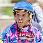 HALLANDALE BEACH, FL - Photo of Emisael Jaramillo taken May 28, 2017 at Gulfstream Park in Hallandale Beach, FL. (Photo by Bob Aaron/Eclipse Sportswire/Getty Images)
