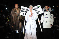 A parody on protest activists to launch furisgreen.com hit the runway at L'Oreal Fashion Week in Toronto on Wednesday, March 19, 2008. (CNW Group/Best PR Boutique)